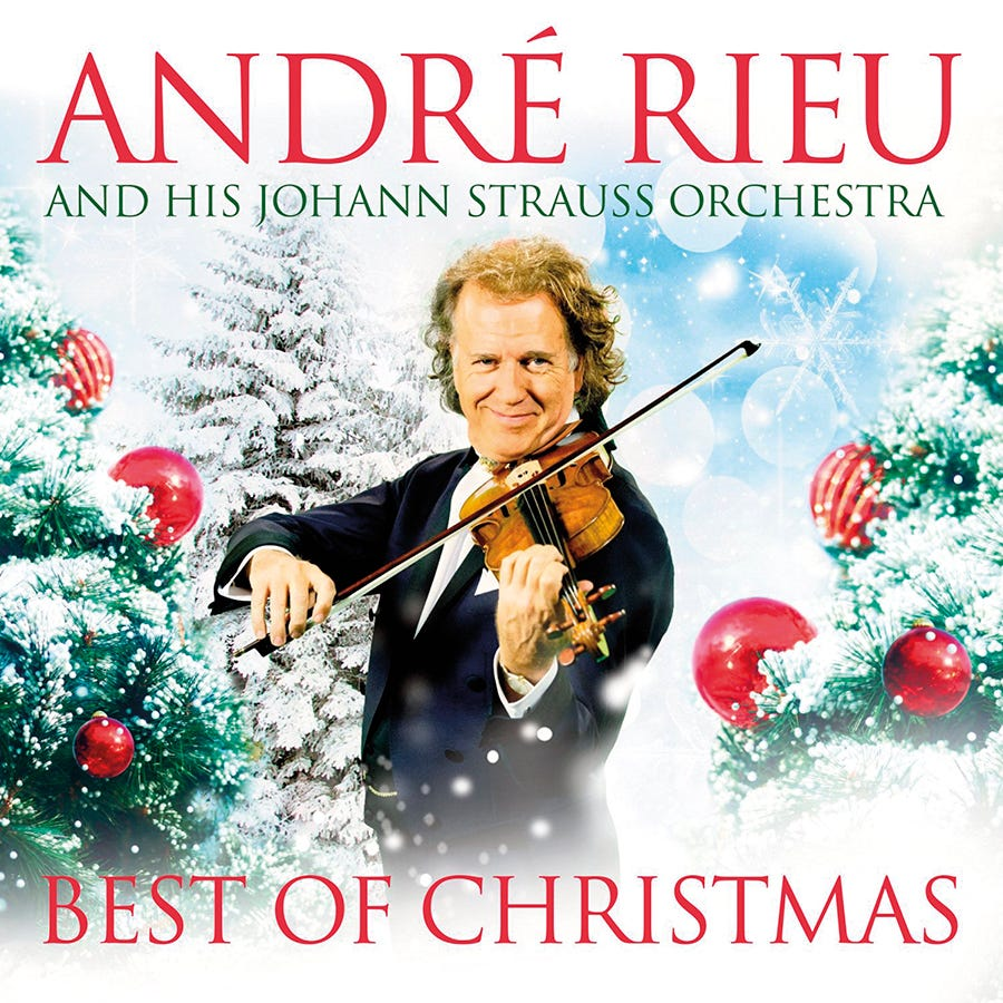 André Rieu - Best of Christmas CD & DVD | For all who love our ...