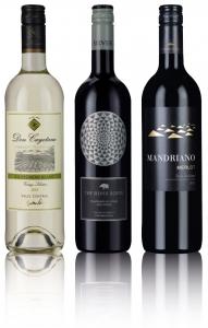 Classic Wine Trio (Red, Red, White)