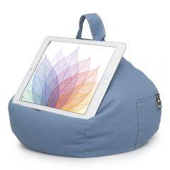 iBeani Denim Blue Bean Bag Cushion