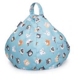 iBeani Cool Cats Bean Bag Cushion