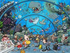 Chaos at the Aquarium Jigsaw Puzzle