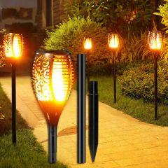 Solar Flickering Flame Torch