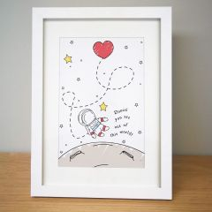 Personalised Out Of This World Framed Print