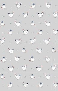 Hen House Linen Tea Towel