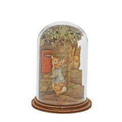 Peter Posting Letter Wooden Figurine