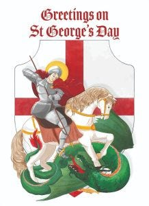 St. George Day Cards 2021