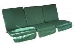 Carnival Low-Back 3-Seat Swing Cushion Set