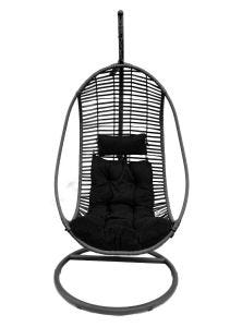 Inca Hanging Egg Chair (Anthracite Frame and Cushion)