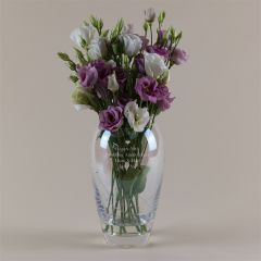 Personalised Anniversary Swarovski Vase
