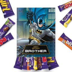 Personalised Cadbury Batman Hamper