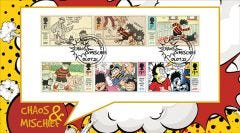 Chaos & Mischief Stamps Collectable