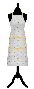 Bee Happy Cotton Apron