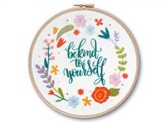 Be Kind To Yourself Embroidery Kit