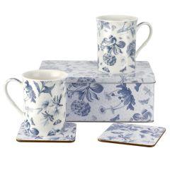 Botanic Blue 5-Piece Tin Set