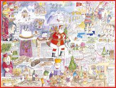 Christmas - Tim Bulmer 1000 Piece Jigsaw Puzzle