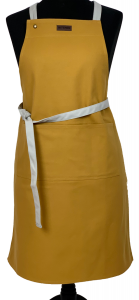 Canvas Kitchen Apron Mustard
