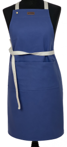 Canvas Kitchen Apron Roy Blue