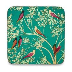 Chelsea Collection Coasters Set of 6 Green