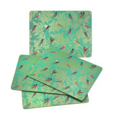 Chelsea Collection Placemats Set of 4 Green