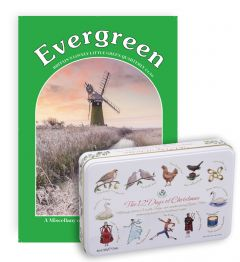 Evergreen Magazine Subscription (Fudge & Toffee Tin)