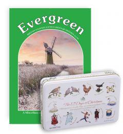 Evergreen Magazine Subscription (Fudge & Toffee Tin)