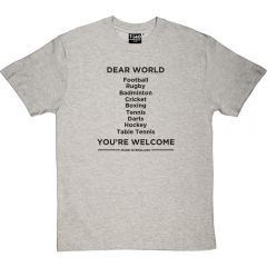 Dear World T-Shirt