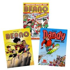 Double Trouble Pack 2022 with Beano Christmas Special