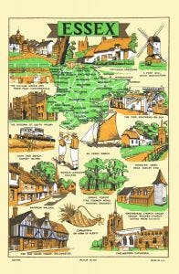 Essex Tea Towel