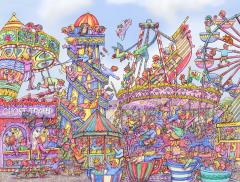 Fairground Fiasco Jigsaw Puzzle