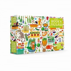 Usborne Book and Jigsaw : On The Farm – 100 Piece Puzzle and Puzzle Book