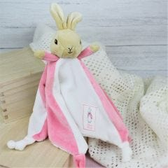 Personalised Flopsy Bunny Snuggle Baby Toy