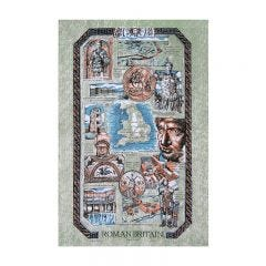 Roman Britain Cotton Tea Towel