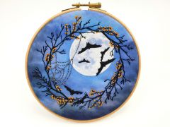 One Spooky Night Halloween Embroidery Kit