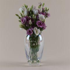 Personalised Heart Name Swarovski Vase