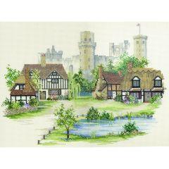 English Village Counted Cross-Stitch