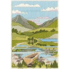 Spring Mountain Long Stitch Kit