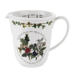 The Holly and The Ivy Measuring Jug