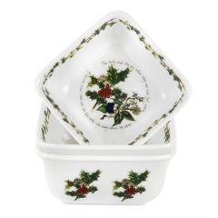 The Holly and The Ivy Mini Square Dishes (3)
