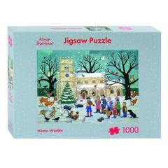Winter Wildlife Jigsaw Puzzle