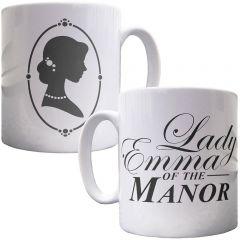 Personalised Lady of the Manor Mug
