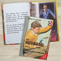 Personalised Ladybird Book: The Husband