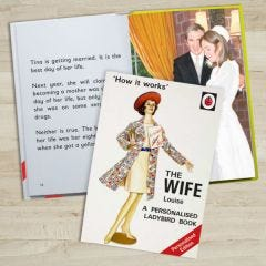 Personalised Ladybird Book: The Wife