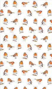 Little Robins Tea Towel