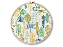 Leaves Embroidery Kit