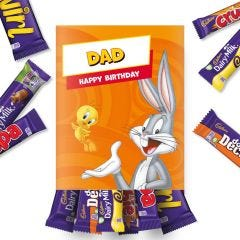 Personalised Cadbury Looney Tunes Hamper