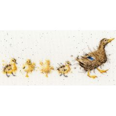 Wrendale Mother Duck Cross Stitch Kit by Hannah Dale