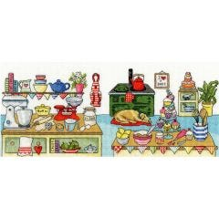 Baking Fun Counted Cross Stitch Kit by Julia Rigby