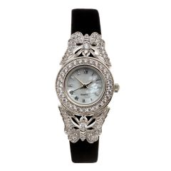 Jewelled Butterfly Dress Watch