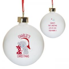 Me To You 1st Christmas Bauble
