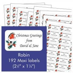 Robin Address Labels